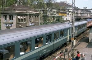 SBB Aarau, Salonwagen mit Queen, P80